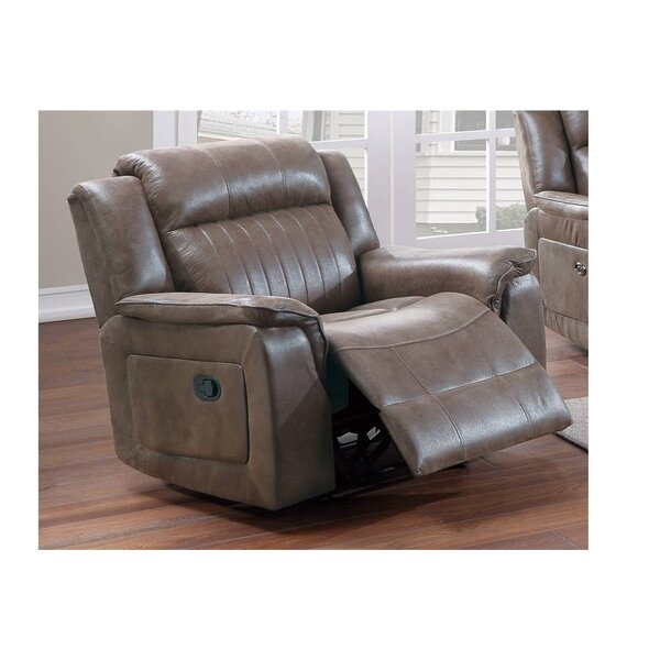 Amond Faux Leather Manual Glider Recliner W003506460