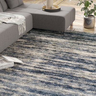 Blue Thick Pile Area Rugs You Ll Love In 2020 Wayfair