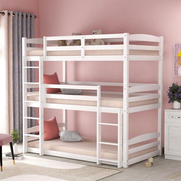Huntsville Twin over Twin over Twin Triple Bed by Harriet Bee