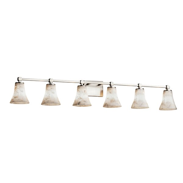Conovan 6-Light Vanity Light by Rosecliff Heights