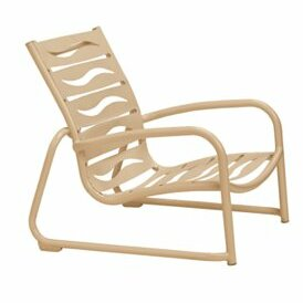 Millennia EZ Span™ Wave Segment Patio Chair by Tropitone