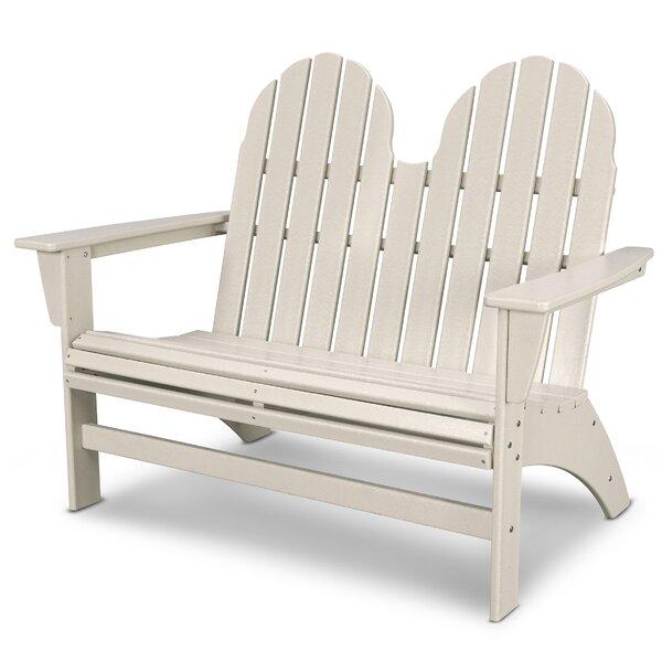 Vineyard Adirondack Park Bench by POLYWOOD®