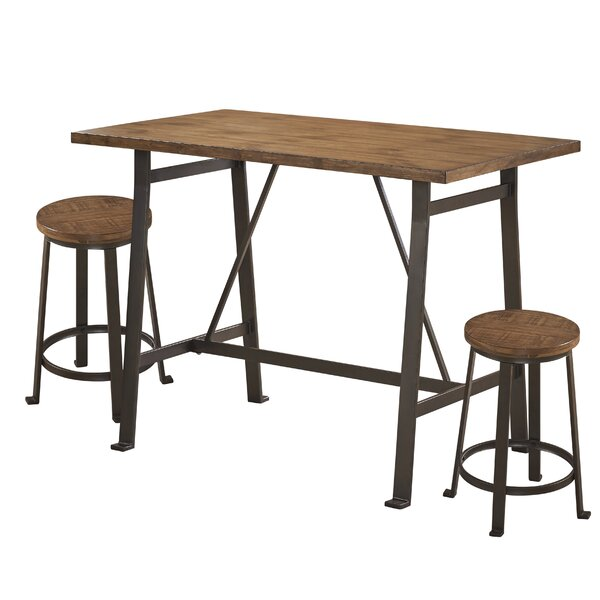 Singletary 3 Piece Dining Set by 17 Stories 17 Stories