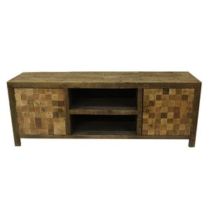 Madox Wood Media 2 Door Accent Cabinet