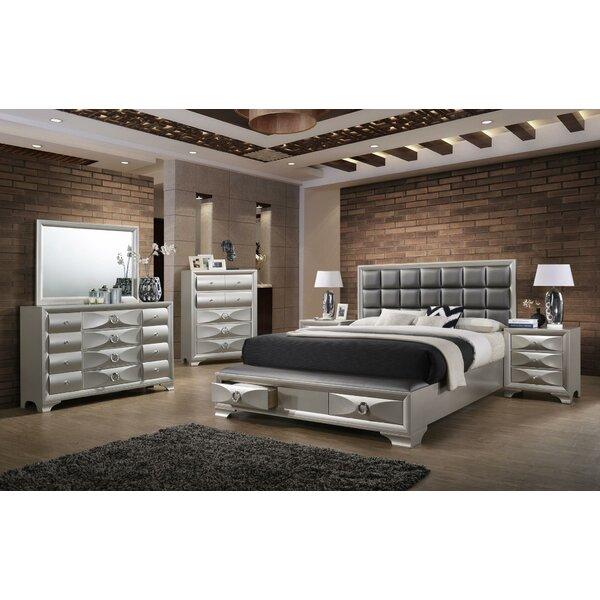 Bertye Platform 3 Piece Bedroom Set by Ebern Designs