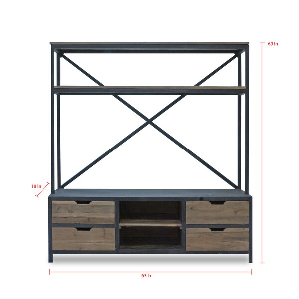 Keyshawn Solid Wood Entertainment Center For TVs Up To 70 Inches By Gracie Oaks
