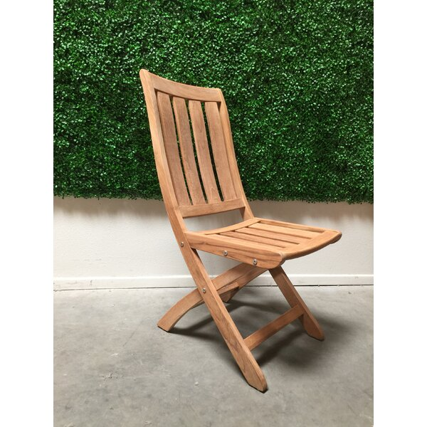 Folding Teak Patio Dining Chair by HiTeak Furniture