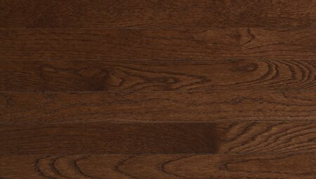 Color Plank 4 Solid White Oak in Metro Brown by Somerset Floors