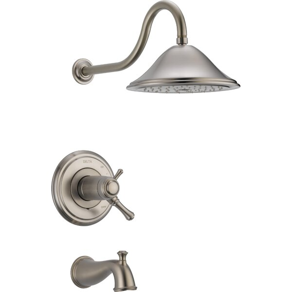 Cassidy™ Thermostatic Tub and Shower Faucet with Trim and TempAssure by Delta