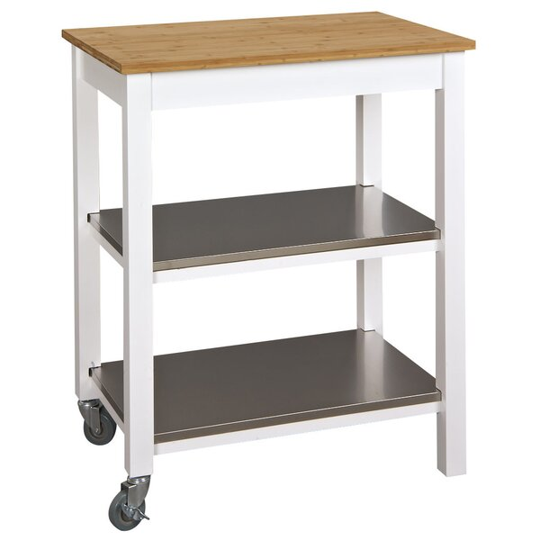 Ridenour Ultimate Kitchen Bar Cart By Breakwater Bay #1