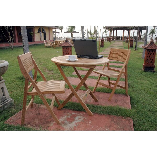 Windsor 3 Piece Teak Bistro Set by Anderson Teak
