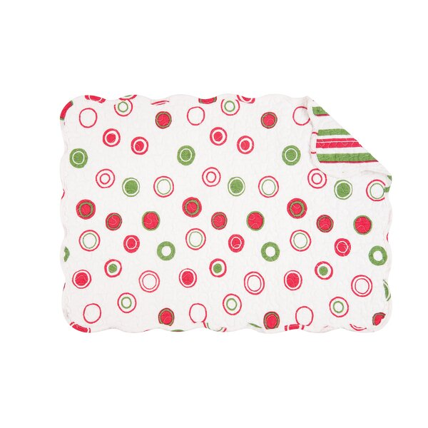 Holiday Bubbles Placemat (Set of 6) by The Holiday Aisle