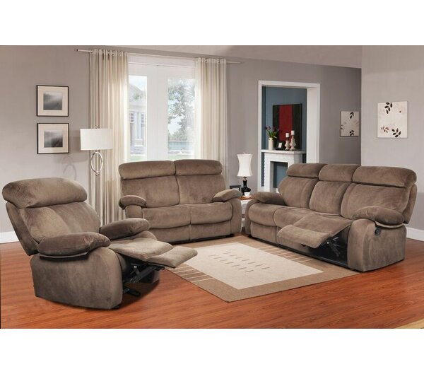 #1 Walden Reclining 3 Piece Living Room Set By Beverly Fine Furniture Savings