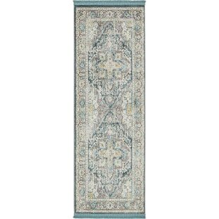 Lonerock Gray Area Rug by Bungalow Rose
