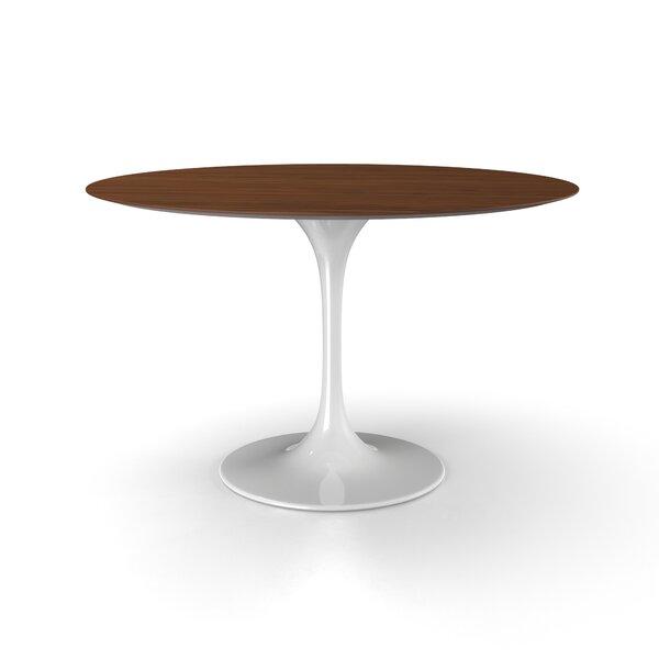 Angelica Wood Top Dining Table by Corrigan Studio