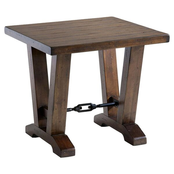 Ivette End Table by Gracie Oaks