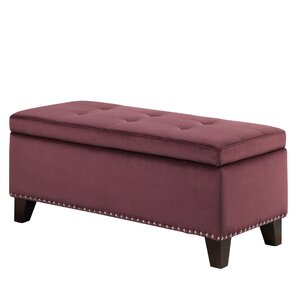 Purple storage benches joss main Purple storage bench