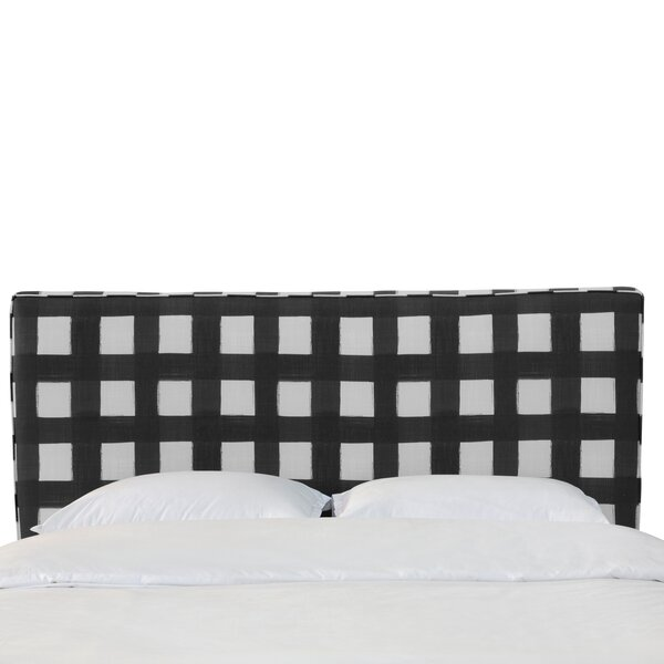 Terrio Box Seam Linen Upholstered Panel Headboard by Brayden Studio