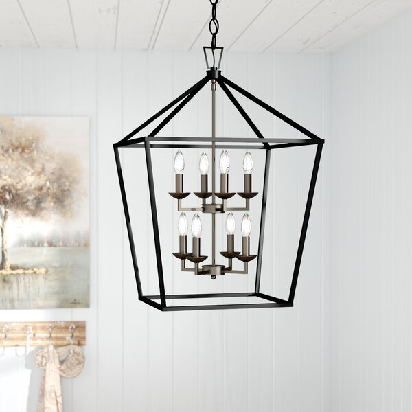 Carmen 8-Light Foyer Pendant by Laurel Foundry Mod