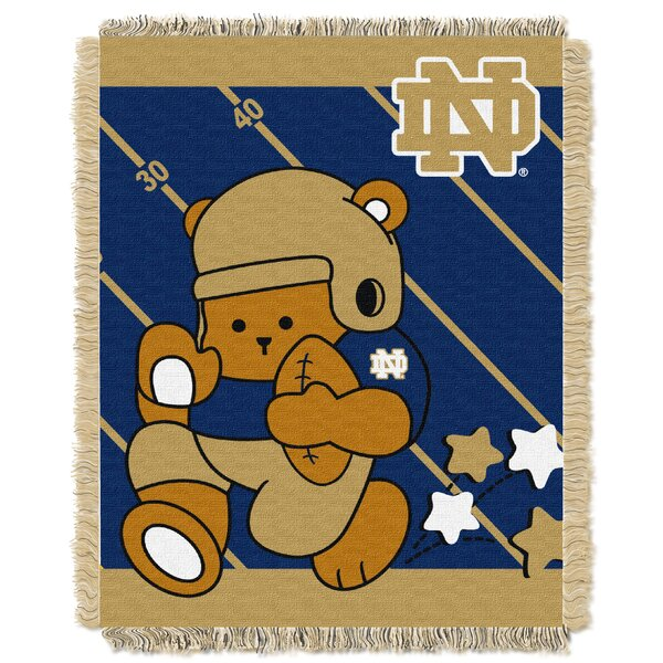 Collegiate Notre Dame Baby Blanket by Northwest Co.