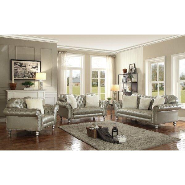 Malmesbury Configurable Living Room Set by House of Hampton