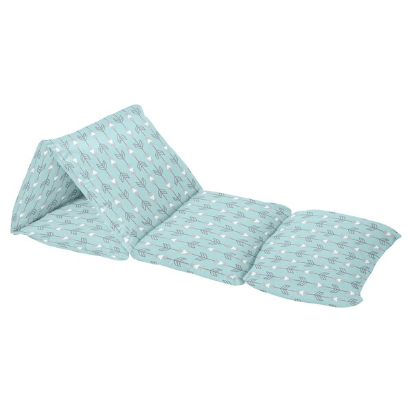 Earth and Sky Arrow Print Floor Pillow Lounger Cover by Sweet Jojo Designs