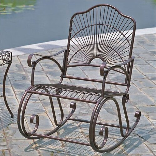 Snowberry  Rocking Chair by Three Posts