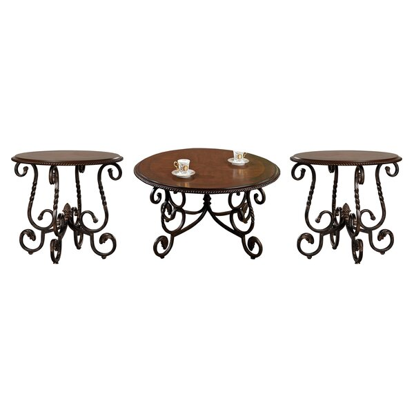 Glen 3 Piece Coffee Table Set by Darby Home Co