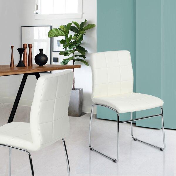 Varnum Upholstered Dining Chair (Set of 2) by Orren Ellis