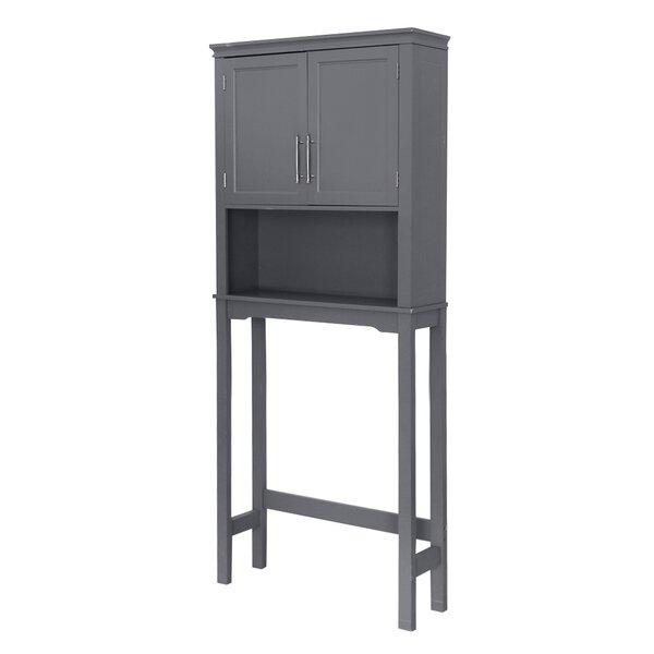 Kibler 27.56'' W x 64.96'' H x 7.87'' D Over-the-Toilet Storage