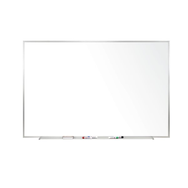 Ghent Magnetic Porcelain Whiteboard with Aluminum Frame by Ghent