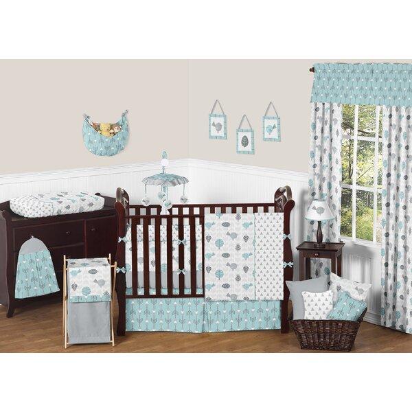 Earth and Sky 9 Piece Crib Bedding Set by Sweet Jojo Designs
