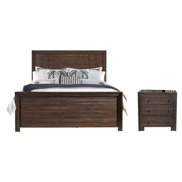 Van Reipen Platform Configurable Bedroom Set by Millwood Pines