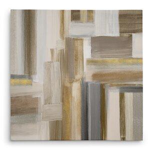 'Fields II' Oil Painting Print on Wrapped Canvas by Willa Arlo Interiors