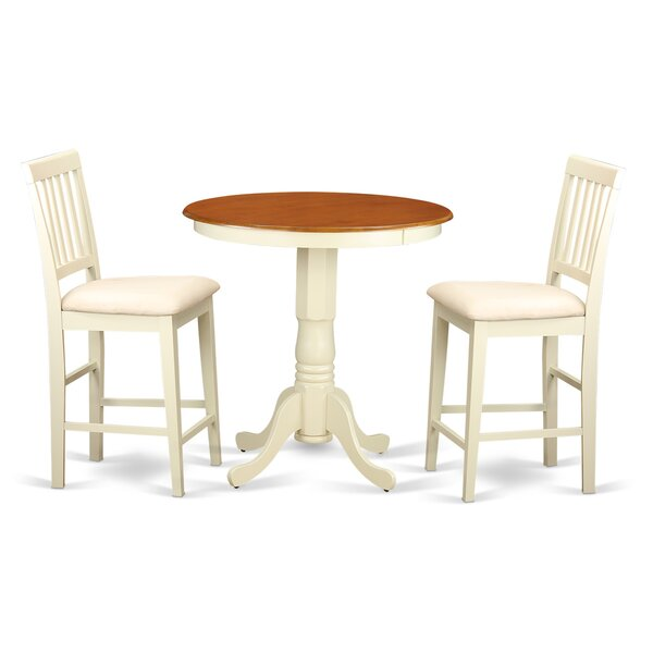 Southside 3 Piece Counter Height Pub Table Set by Charlton Home Charlton Home
