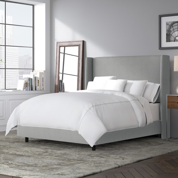 #1 Alrai Upholstered Standard Bed By Mercury Row 2019 Online