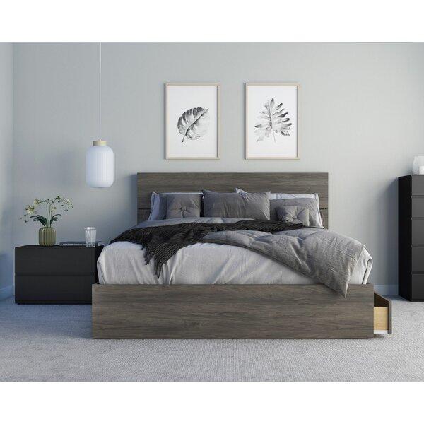 Ozge Platform 3 Piece Bedroom Set by Ebern Designs