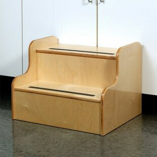 Low Stairs Step Stool by Whitney Brothers