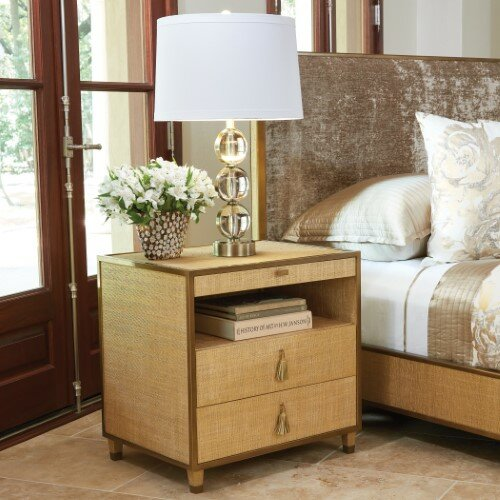 DOro 3 Drawer Nightstand by Global Views