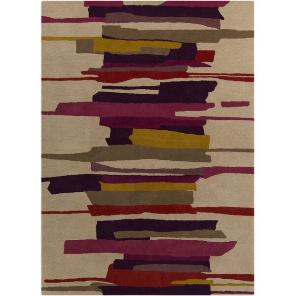 Harlequin Tan Abstract Area Rug by Harlequin