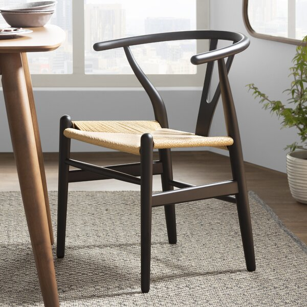 Villa Court Solid Wood Dining Chair (Set of 2) by Langley Street