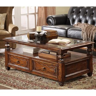 Coffee Table with Storage by Eastern Legends