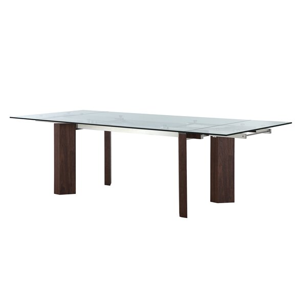 Torino Extendable Dining Table by Casabianca Furniture