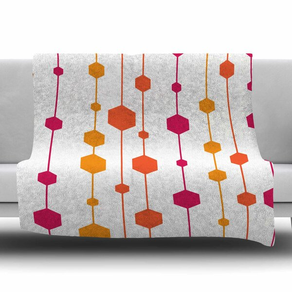 Warm Dots by NL Designs Fleece Blanket by East Urban Home