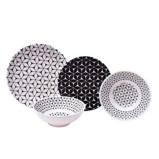 Strata 12 Piece Melamine Dinnerware Set Service for 4  sc 1 st  Wayfair & Outdoor Dining u0026 Entertaining Youu0027ll Love | Wayfair