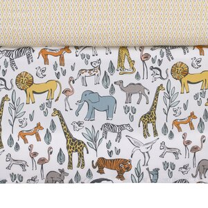 Safari Crib Skirt