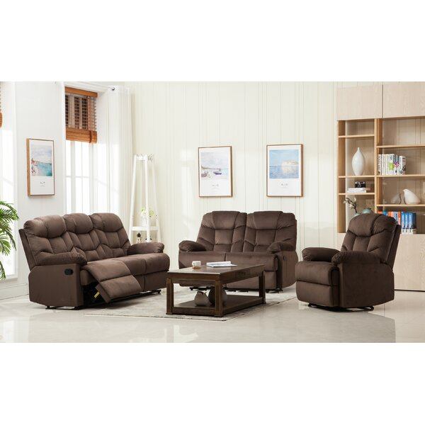 Ranbir 3 Reclining Piece Living Room Set by Red Barrel Studio