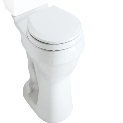 Rockton Dual Flush Elongated Toilet Bowl Only by Sterling by Kohler