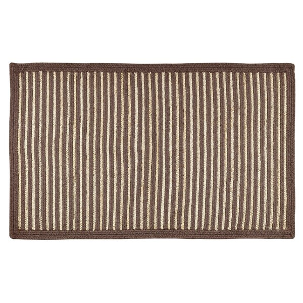 Metro Brown/Natural Area Rug by Better Trends