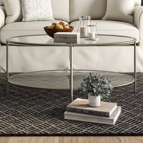 Birch Lane™ Heritage Glass Top Coffee Tables